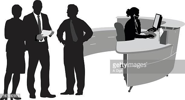Receptionist Stock Illustrations And Cartoons Getty Images