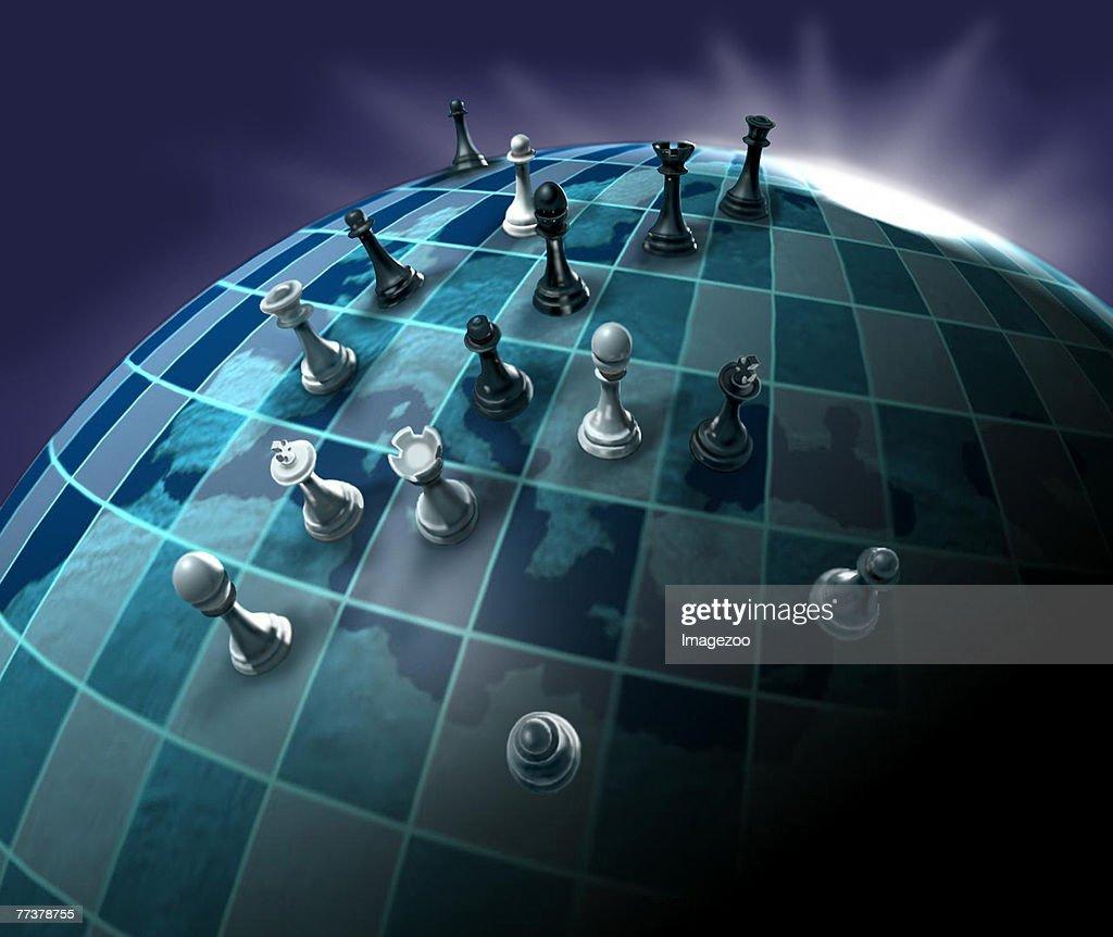 world chess game : Stock Illustration