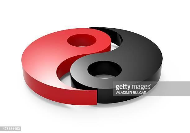 Yin and yang, artwork