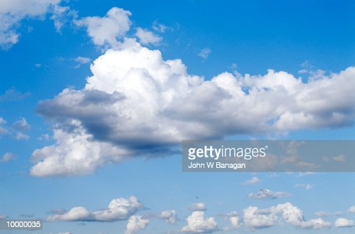 CLOUDS : Stock Photo