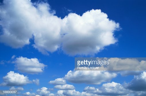CLOUDS : Foto stock
