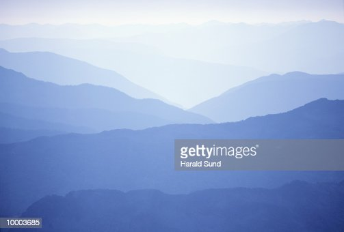 MOUNTAINS IN KOKANEE GLACIER PROV. PARK IN BRITISH COLUMBIA IN CANADA : Stockfoto