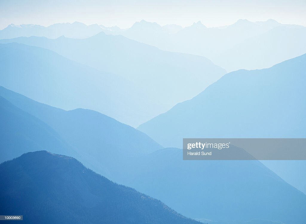 MOUNT REVELSTOKE NATIONAL PARK IN BRITISH COLUMBIA, CANADA : Stockfoto