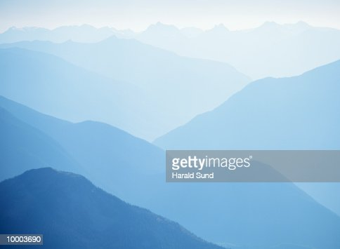 MOUNT REVELSTOKE NATIONAL PARK IN BRITISH COLUMBIA, CANADA : Stock-Foto