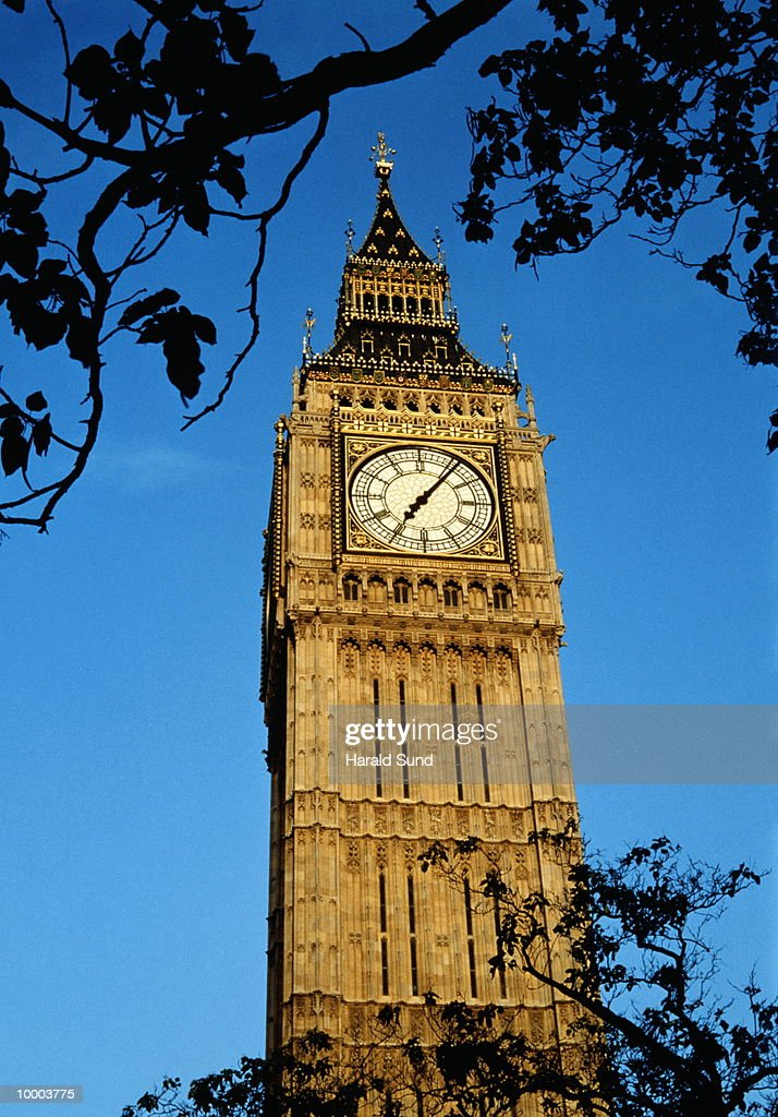 BIG BEN IN LONDON : Stock Photo