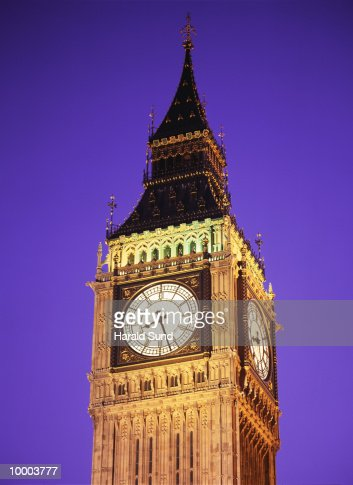 BIG BEN IN LONDON : Bildbanksbilder
