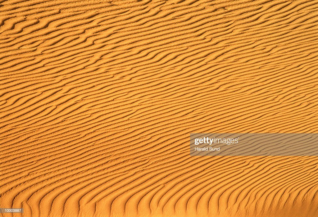 SAND AT DEATH VALLEY NATIONAL MONUMENT IN CALIFORNIA : Stock Photo