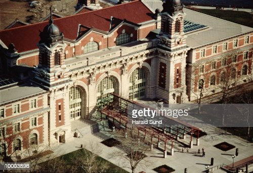 ELLIS ISLAND IN NEW YORK : Stock-Foto