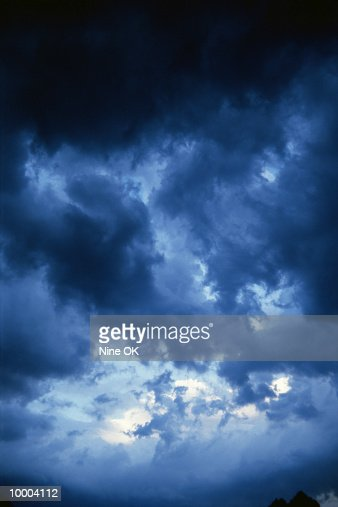 DARK CLOUDS : Stock Photo