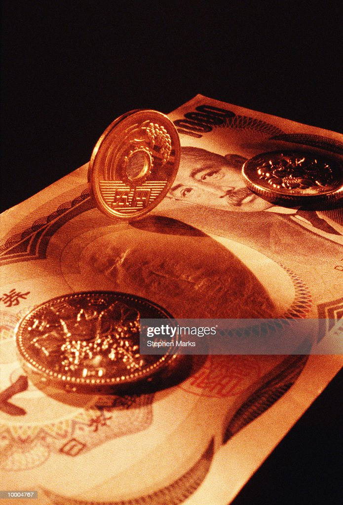 JAPANESE CURRENCY : Stock Photo