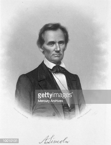 PERSONALITIES: ABRAHAM LINCOLN : Stock Photo