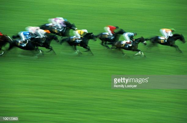 STEEPLECHASE IN PARIS IN BLUR
