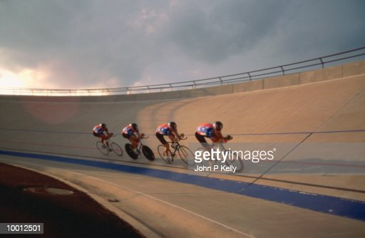 TRACK CYCLING : Stock-Foto