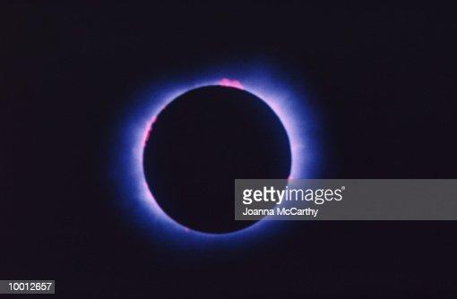 SOLAR ECLIPSE : Foto de stock