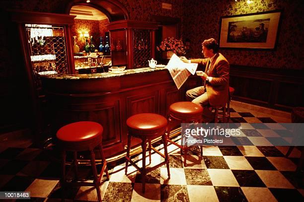 BUSINESSMAN IN HOTEL IN HOTEL MASCAGNI IN ROME