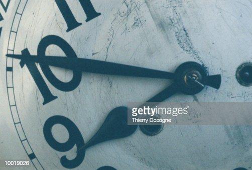 CLOCK IN DETAIL : Stockfoto