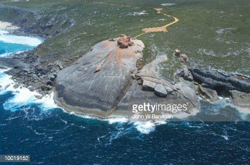 REMARKABLE ROCKS ON KANGAROO ISLAND IN SOUTH AUSTRALIA : Stock Photo