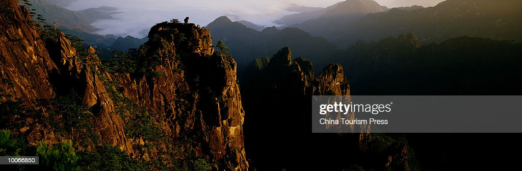 MOUNT HUANGSHAN, ANHUI PROVINCE, PEOPLES REPUBLIC OF CHINA : Stock-Foto