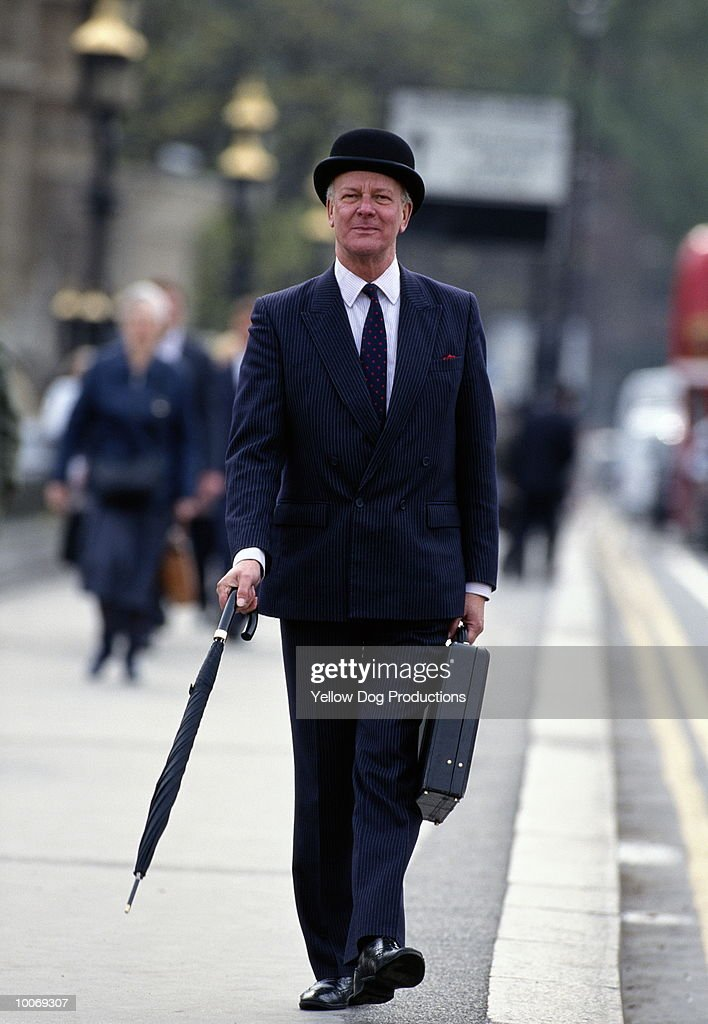 BUSINESSMAN IN LONDON