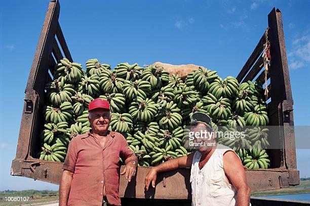 BANANA TRUCK IN HAVANA, CUBA