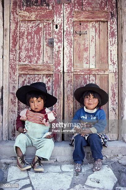 AYMAR INDIAN BOY AND GIRL