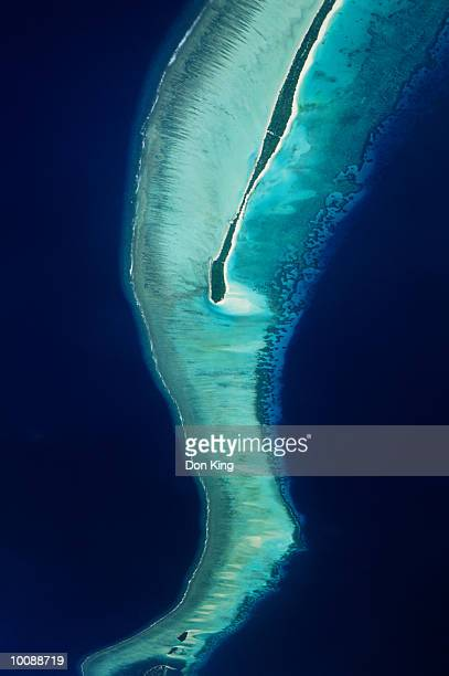 ISLAND AND REEF IN MALDIVES