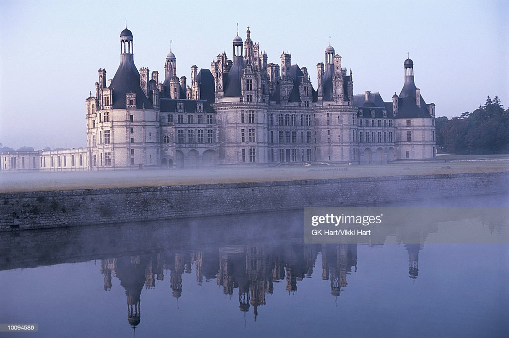 CHAMBORD CASTLE IN FRANCE
