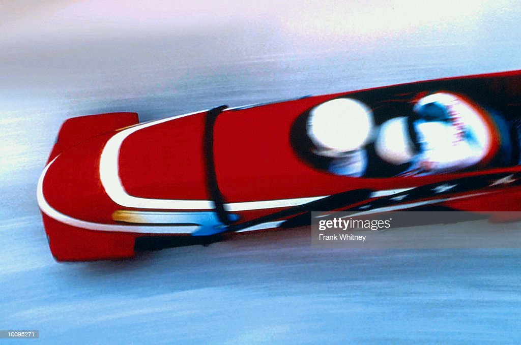 BOBSLED IN LAKE PLACID, NEW YORK