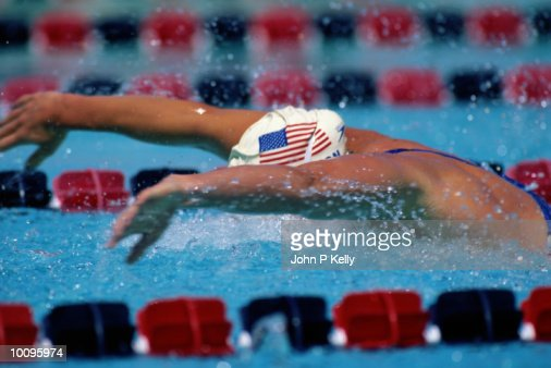COMPETITIVE SWIMMING : Stock Photo