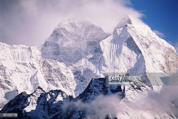 KANTEGA PEAK, EVEREST, HIMALAYAN MOUNTAINS, NEPAL