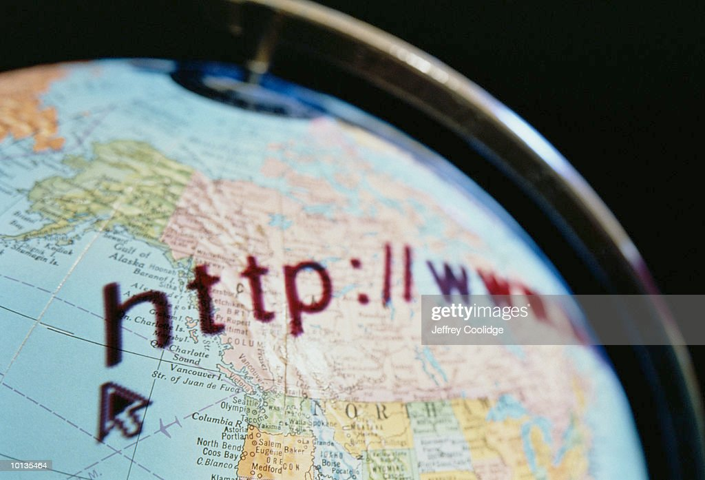 GLOBE, NORTH AMERICA, GLOBAL, DIGITAL : Stock Photo
