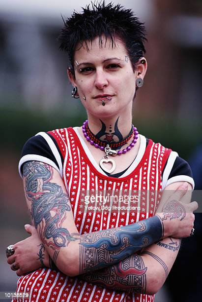 PUNK GIRL, LONDON
