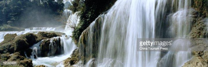 DETIEN WATERFALL, GUANGXI PROVENCE, PRC
