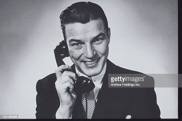BUSINESSMAN ON THE PHONE, CIRCA 1950S