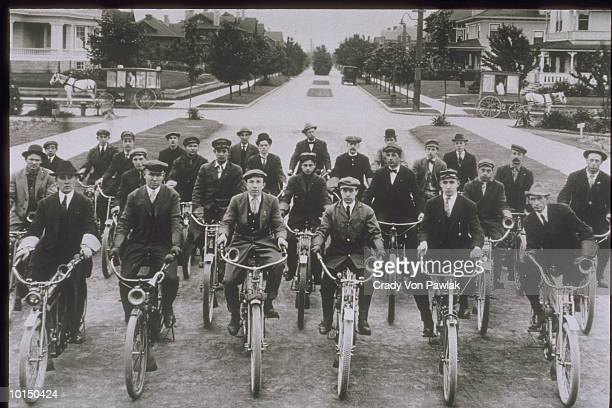 SEATTLE MOTORCYCLE CLUB, 1911