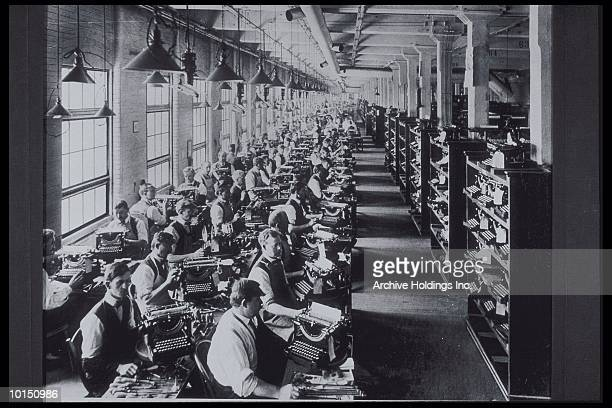FACTORY TYPEWRITER ASSEMBLY, 1920S