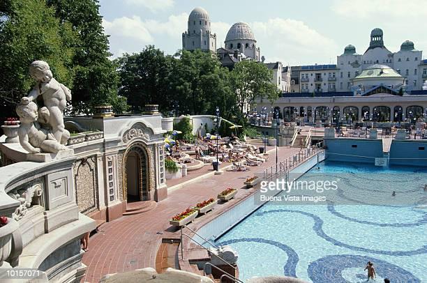 GELLERT MEDICINAL BATHS, BUDAPEST, HUNGARY