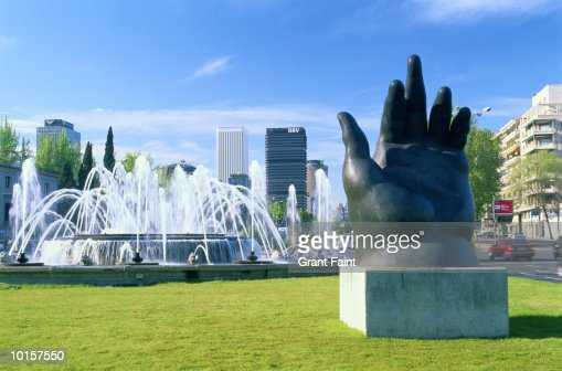 MADRID, SPAIN, BUSINESS DISTRICT, BOTERO : Stock Photo