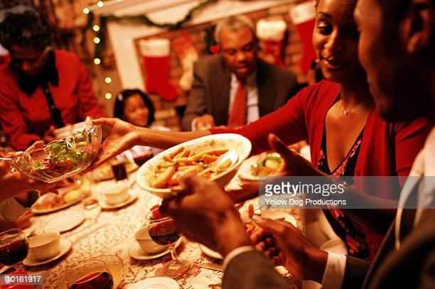 FAMILY HOLIDAY DINNER, CHRISTMAS