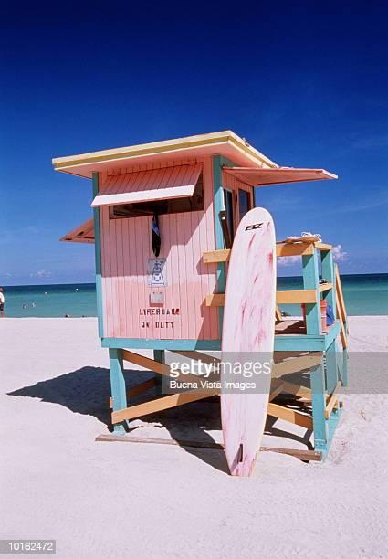USA FLORIDA MIAMI BEACH LIFEGUARD STATION