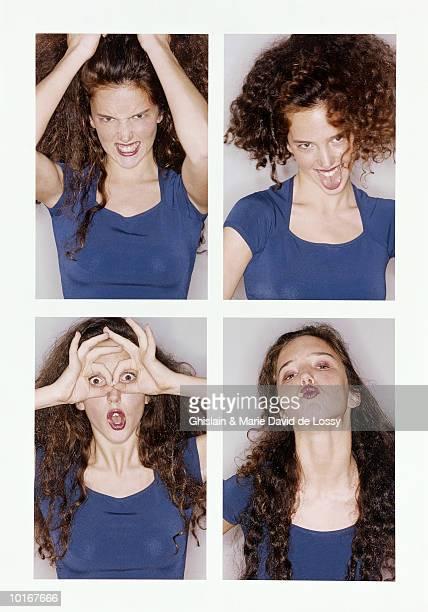 PASSPORT PHOTOS OF YOUNG WOMAN