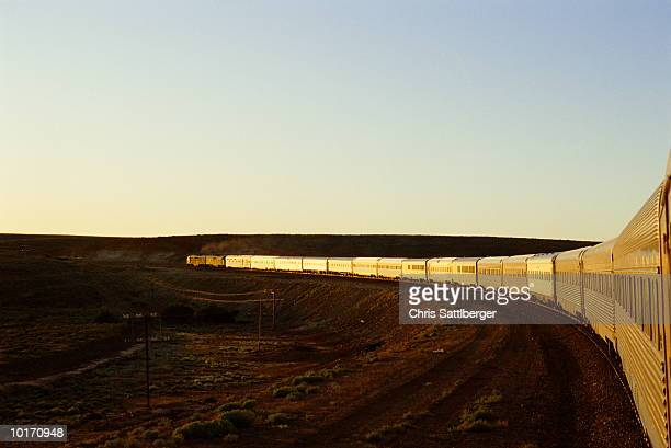 NORTHERN TERRITORY, THE GHAN, TRAIN