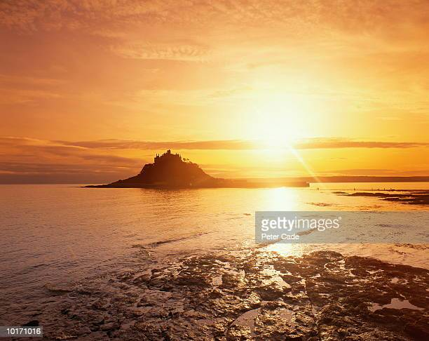ST. MICHAELS MOUNT, SUNSET