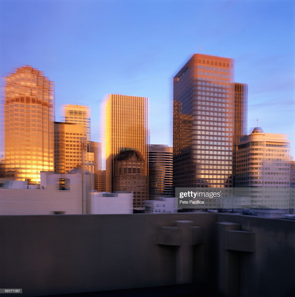 DOWNTOWN SAN FRANCISCO, CALIFORNIA, USA : Stock Photo