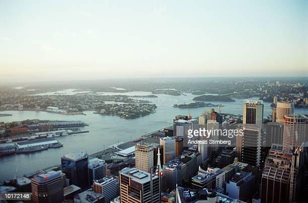 SYDNEY, AUSTRALIA, AERIAL VIEW