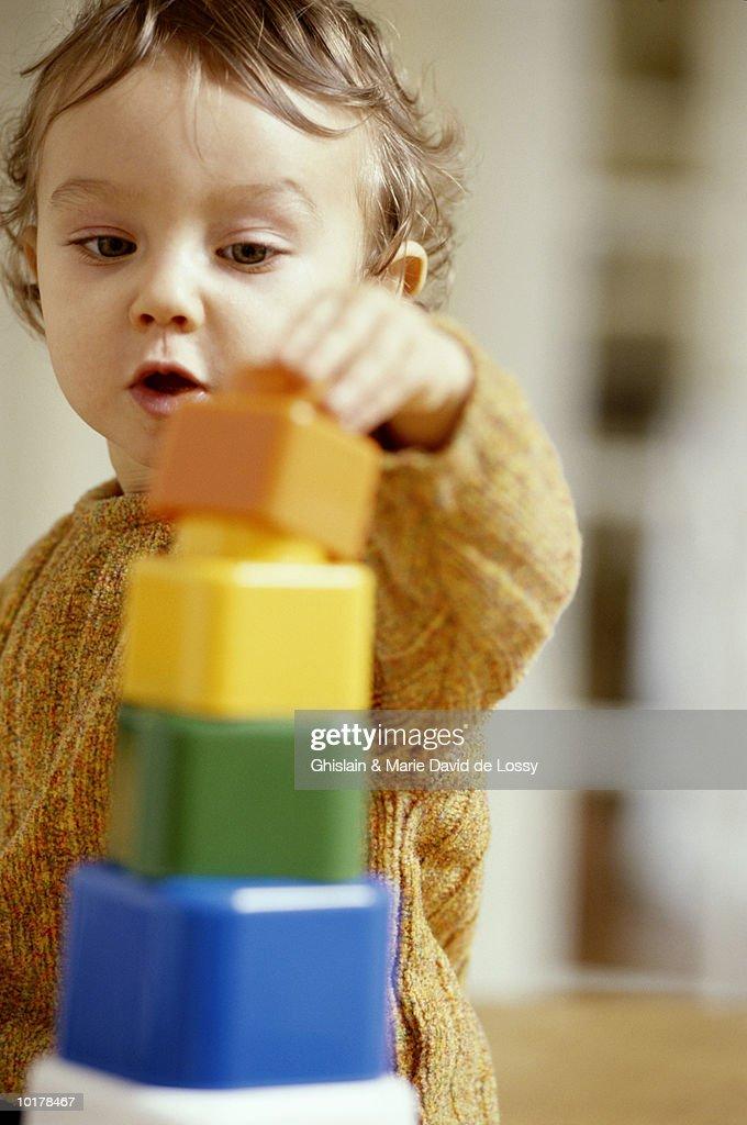 BABY GIRL (1-2)  STACKING TOY BLOCKS