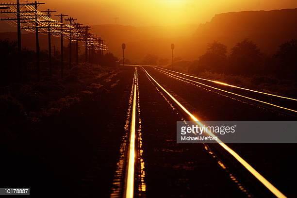 RAILROAD TRACKS, OREGON