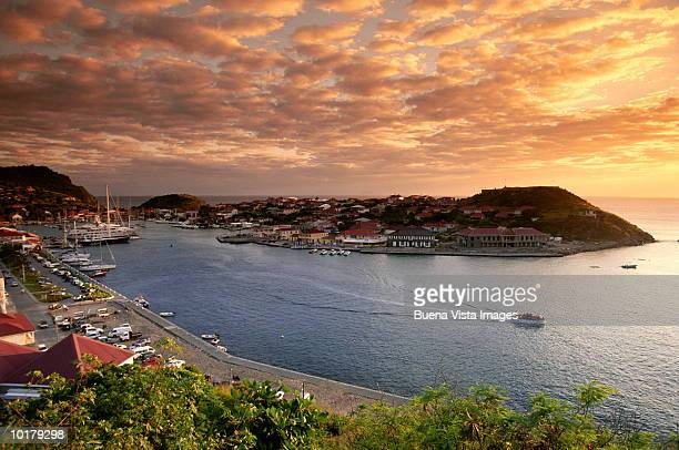CARIBBEAN, ST BARTHELEMY GUSTAVIA AND HARBOR
