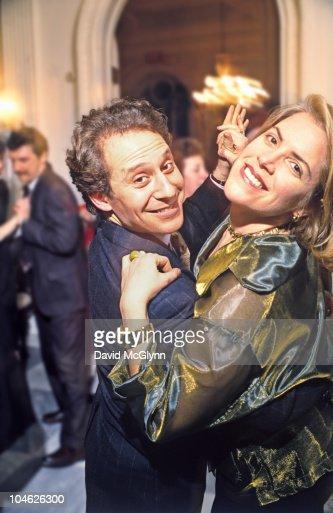 MAN & WOMAN DANCING AT PARTY : Stock Photo