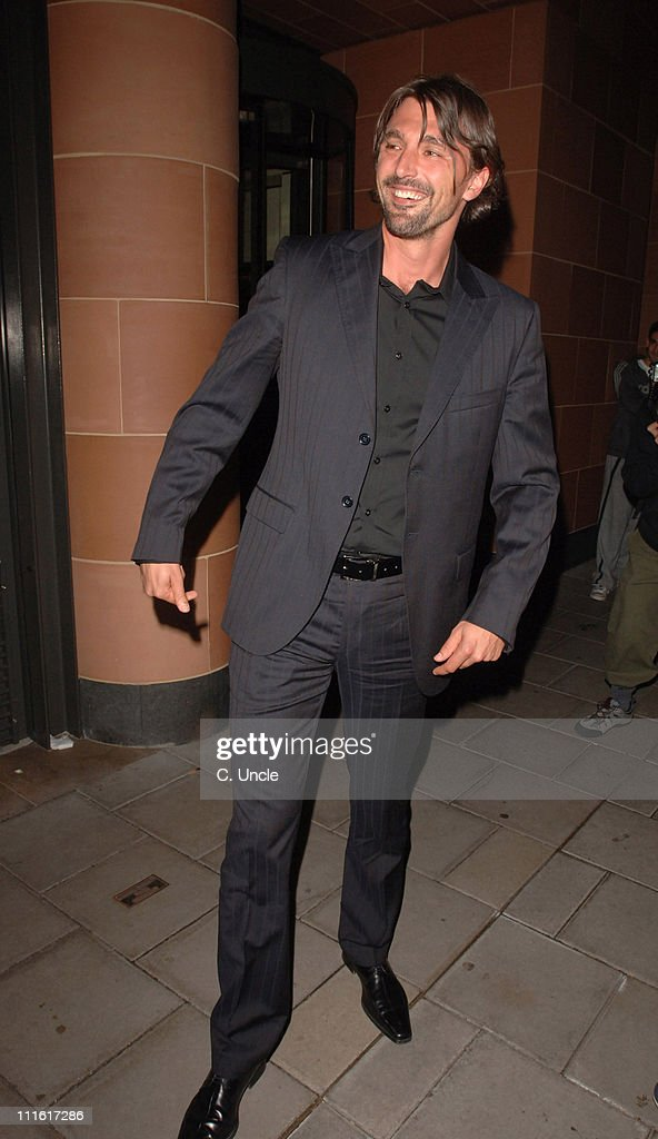 Goran Ivanisevic during Celebrity Sightings at Cipriani's October 10 2006